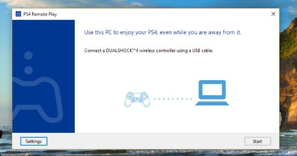 How to play playstation 4 games on pc