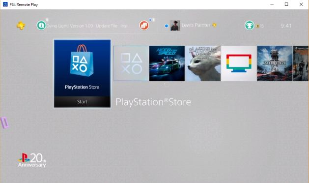 How to play playstation 4 games on laptop