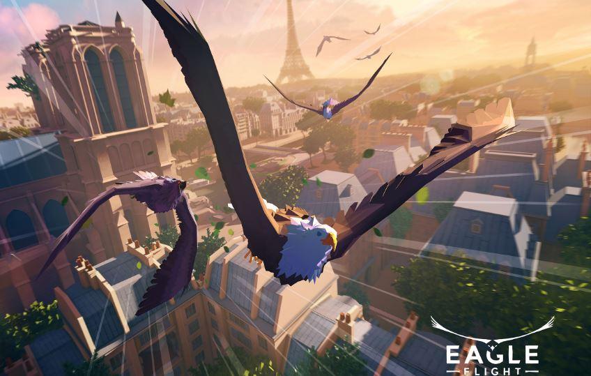 Eagle Flight Virtual Reality Game