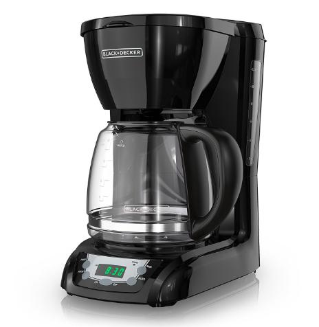 BLACK+DECKER 12-Cup Programmable Coffeemaker