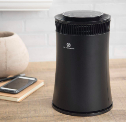 SilverOnyx Air Purifier with True HEPA Carbon Filter