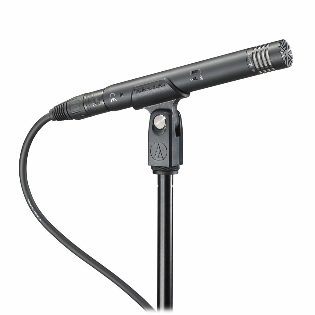 audio technia condenser mic