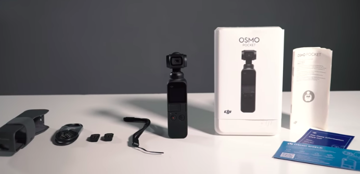 Osmo Pocket Unboxing