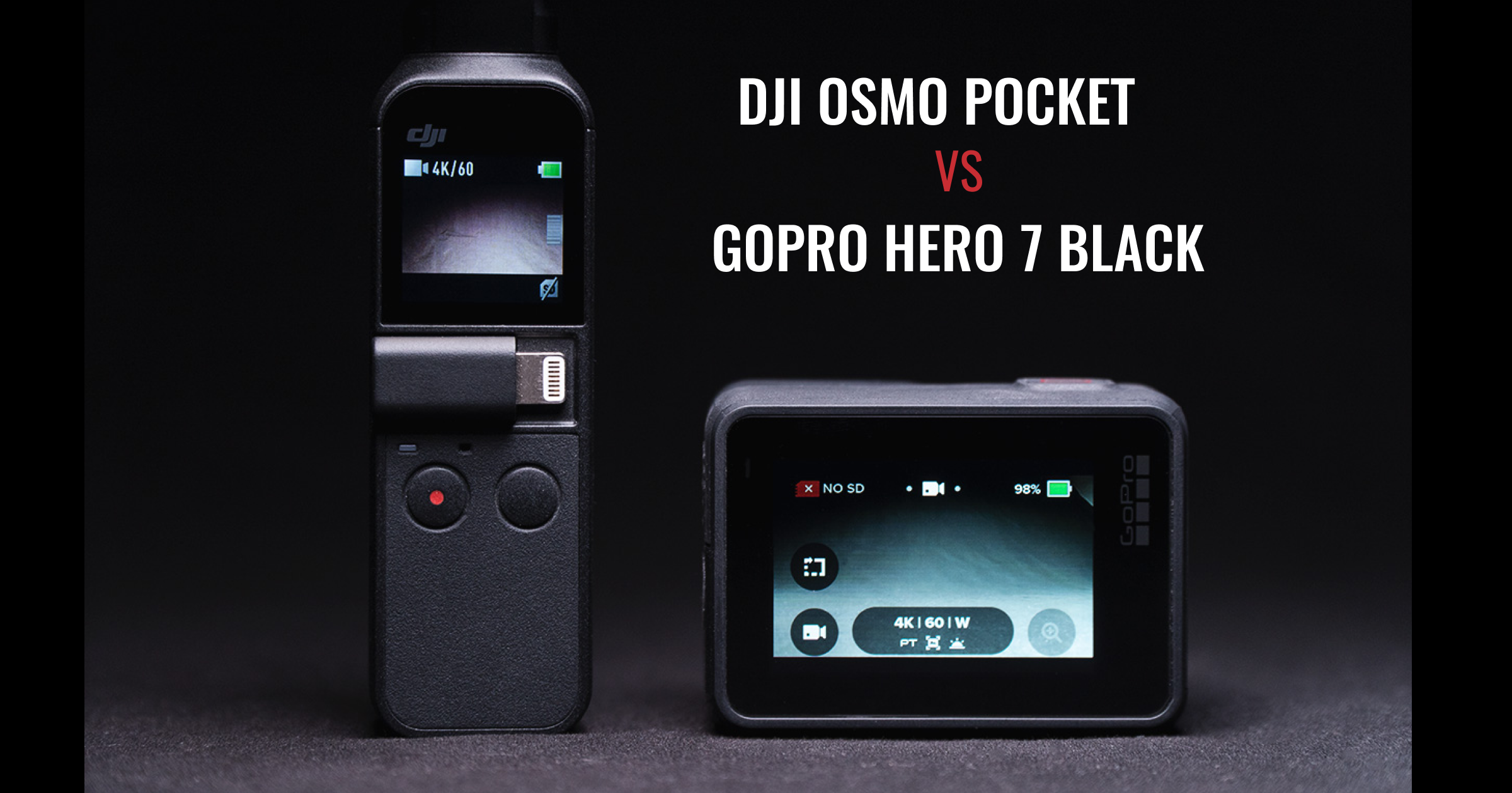 dji osmo pocket vs gopro hero 7 black