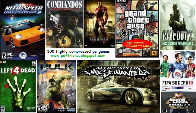 Top 10 Best Compressed Games for PC - Ultra Compressed ...