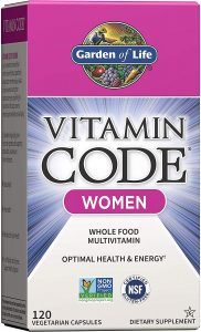 Garden of Life Multivitamin for weight management