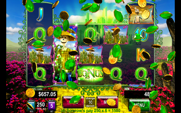 Wizard of Oz slot games