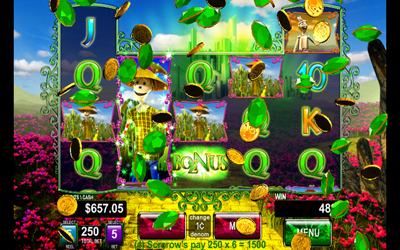 Wizard Of Oz Slots Tips