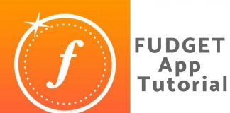 Fudget App Tutorial