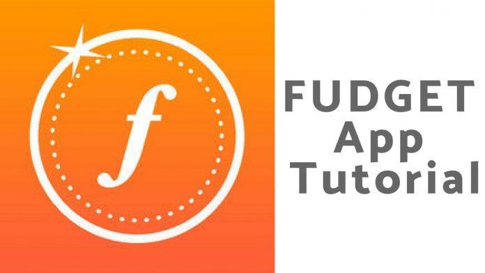 Fudget App Tutorial