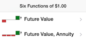 Six Functions of a $1